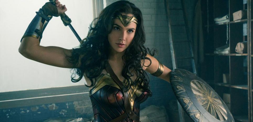 """Gal Gadot dans """"Wonder Woman"""""""